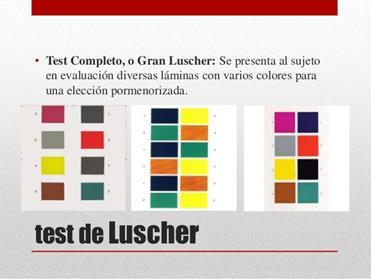 Test de colores