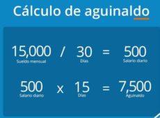 Cómo calcular el aguinaldo