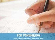 Test psicológico