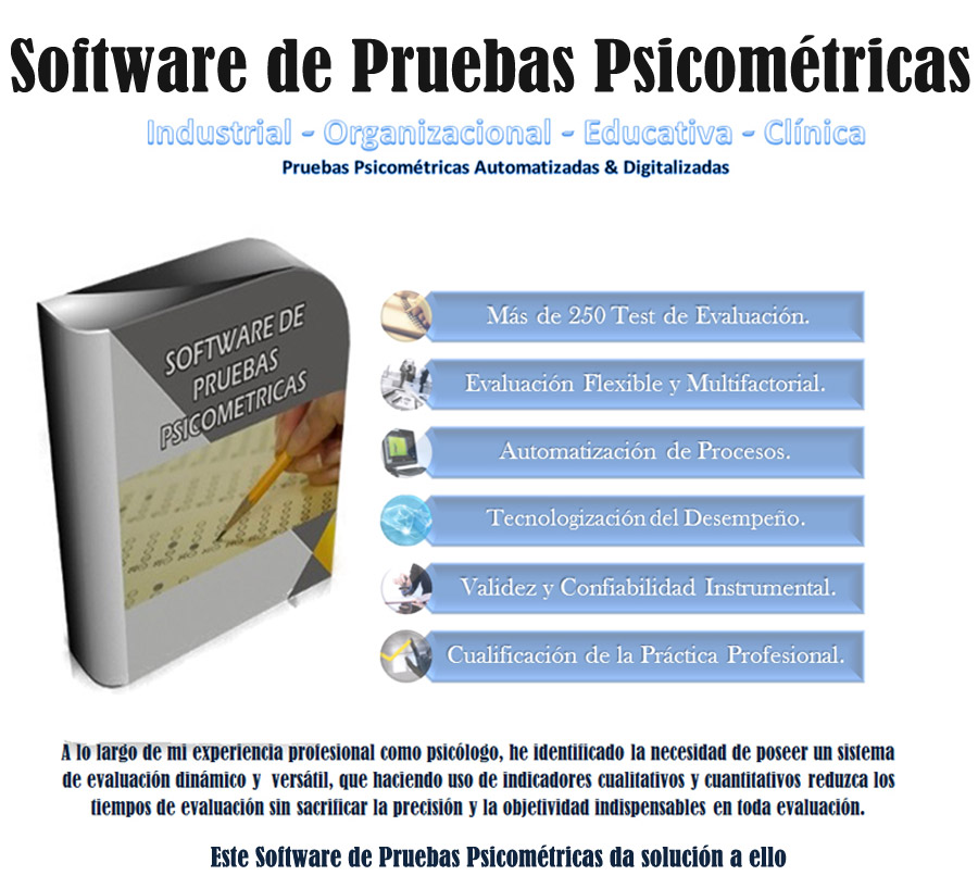Software de Pruebas Psicométricas Para Selección de Personal